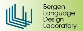 Bergen Language Design Laboratory
